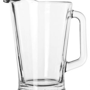 fancy glass water pitcher for good time rent
