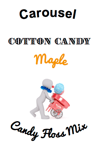 maple cotton candy floss sugar