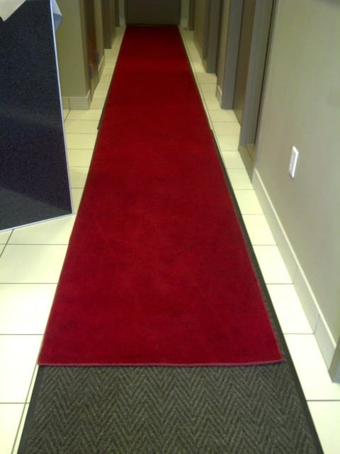 Carpet Runner 3 X10 Red Outdoor Rental Party Rental Depot Calgary