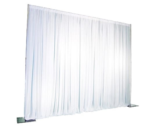 Drapes 8' Ivory Rental | Party Rental Depot Calgary