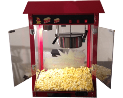 harlans popcorn machine