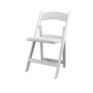 special event white wedding resin chair