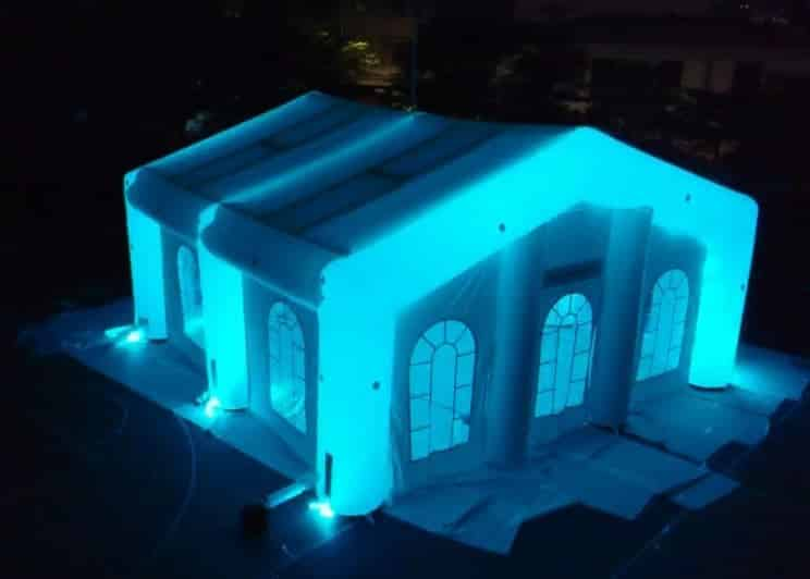 night glow wedding tent led & LED Kit for Inflatable Tents Rental | Party Rental Depot Calgary