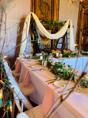 pink-draped-reception-table