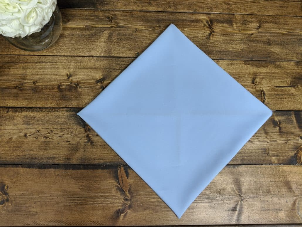 Napkin Fold Of The Month Snowflake Party Rental Depot
